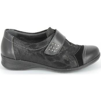 Chaussures Derbies & Richelieu Boissy Derby 7510 Noir Texturé Noir