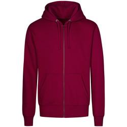 Vêtements Homme Sweats X.o By Promodoro Veste Sweat Capuche Zippée X.O Hommes framboise