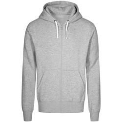 Vêtements Homme Sweats X.o By Promodoro Veste Sweat Capuche Zippée X.O Hommes gris chiné