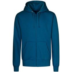 Vêtements Homme Sweats X.o By Promodoro Veste Sweat Capuche Zippée X.O grandes tailles Hommes pétrole