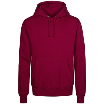 Vêtements Homme Sweats X.o By Promodoro Sweat Capuche X.O Hommes framboise