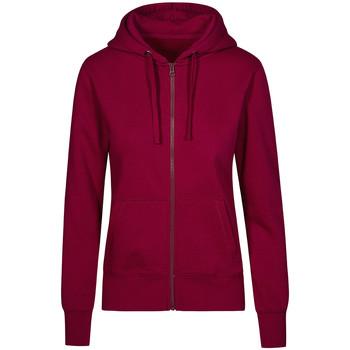 Vêtements Femme Sweats X.o By Promodoro Veste Sweat Capuche Zippée X.O grandes tailles Femmes framboise