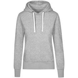 Vêtements Femme Sweats X.o By Promodoro Sweat Capuche X.O Femmes gris chiné
