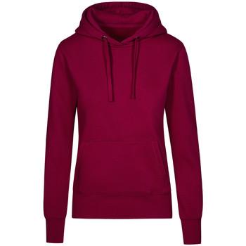 Vêtements Femme Sweats X.o By Promodoro Sweat Capuche X.O Femmes framboise