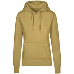 Vêtements Femme Sweats X.o By Promodoro Sweat Capuche X.O Femmes vert olive