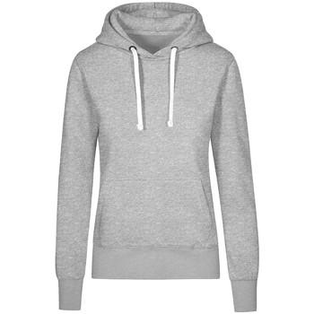 Vêtements Femme Sweats X.o By Promodoro Sweat Capuche X.O grandes tailles Femmes gris chiné