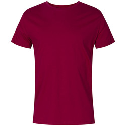 Vêtements Homme T-shirts manches courtes Promodoro T-shirt col rond Hommes framboise