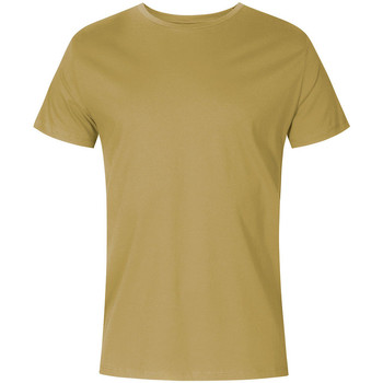 Vêtements Homme T-shirts manches courtes X.o By Promodoro T-shirt col rond Hommes vert olive