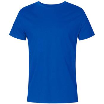 Vêtements Homme T-shirts manches courtes Promodoro T-shirt col rond Hommes bleu azure