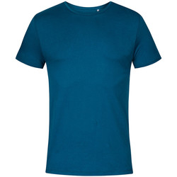 Vêtements Homme T-shirts manches courtes X.o By Promodoro T-shirt col rond Hommes pétrole