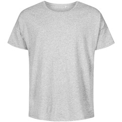 Vêtements Homme T-shirts manches courtes X.o By Promodoro T-shirt oversize Hommes gris chiné