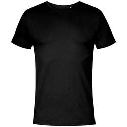 Vêtements Homme T-shirts manches courtes Promodoro T-shirt col rond grandes tailles Hommes noir