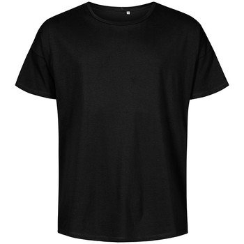Vêtements Homme T-shirts manches courtes X.o By Promodoro T-shirt oversize Hommes noir