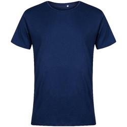 Vêtements Homme T-shirts manches courtes X.o By Promodoro T-shirt col rond Hommes bleu marine français