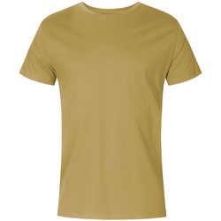 Vêtements Homme T-shirts manches courtes X.o By Promodoro T-shirt col rond grandes tailles Hommes vert olive