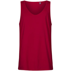Vêtements Homme Débardeurs / T-shirts sans manche X.o By Promodoro Débardeur col rond Hommes framboise