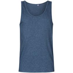 Vêtements Homme Débardeurs / T-shirts sans manche Promodoro Débardeur col rond Hommes Bleu marine chiné