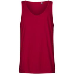 Vêtements Homme Débardeurs / T-shirts sans manche X.o By Promodoro Débardeur col rond grandes tailles Hommes framboise