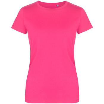 Vêtements Femme T-shirts manches courtes Promodoro T-shirt col rond Femmes fushia