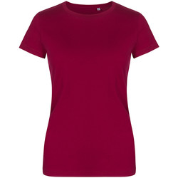 Vêtements Femme T-shirts manches courtes X.o By Promodoro T-shirt col rond Femmes framboise