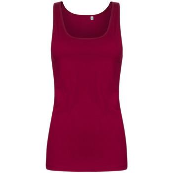Vêtements Femme Débardeurs / T-shirts sans manche X.o By Promodoro Top col rond grandes tailles Femmes framboise