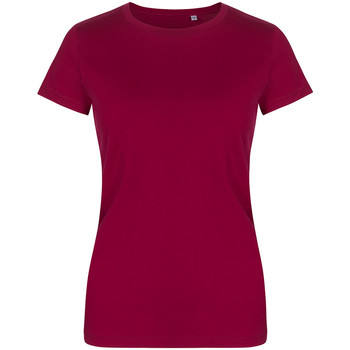 Vêtements Femme T-shirts manches courtes X.o By Promodoro T-shirt col rond grandes tailles Femmes framboise