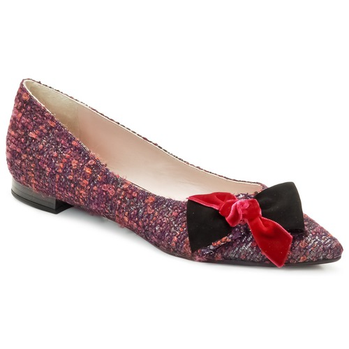 Chaussures Femme Ballerines / babies Magrit Rosy Knot Multicolore rose