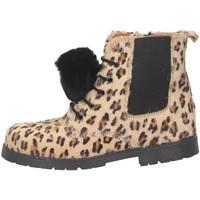 Chaussures Fille Bottines Eli 6235Z léopard