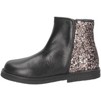 Chaussures Fille Bottines Eli 6202Z NERO/GLIT ROSA Noir / Rose