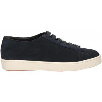 Chaussures Homme Baskets mode Santoni TENNIS 6F+T.LIS+INF. DEDEU u55-blu