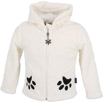 Vêtements Enfant Polaires Eldera Sportswear Reglisse blanc polair bb Blanc