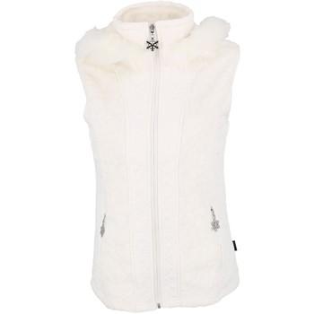 Vêtements Femme Polaires Eldera Sportswear Vienne blanc sm polaire l Blanc