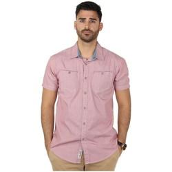 Vêtements Homme Chemises manches longues Timezone Chemise  ref_42989 Rose rose