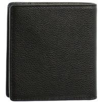 Sacs Homme Porte-monnaie Hexagona Porte-monnaie  cuir ref_46582 Noir/Marine 10*10*3 noir