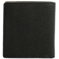Sacs Homme Porte-monnaie Hexagona Porte-monnaie  cuir ref_46582 Noir/Taupe 10*10*3 noir