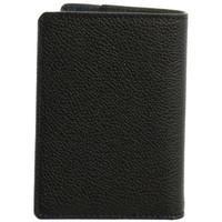 Sacs Homme Portefeuilles Hexagona Petit porte-cartes  cuir ref_46583 Noir/Ma noir