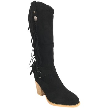 Chaussures Femme Bottes ville Silvian Heach B-28 Negro