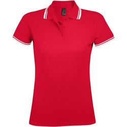 Vêtements Femme Polos manches courtes Sols PASADENA MODERN WOMEN Rojo