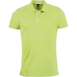 Vêtements Homme Polos manches courtes Sols PERFORMER MEN SPORT Verde