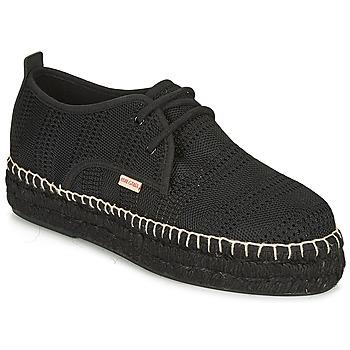 Chaussures Femme Espadrilles Pare Gabia EBY Noir