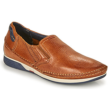 Chaussures Homme Slip ons Fluchos JAMES Marron / Marine
