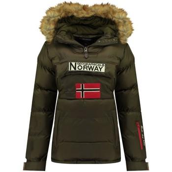 Vêtements Femme Doudounes Geographical Norway Doudoune Femme Belancolie Kaki