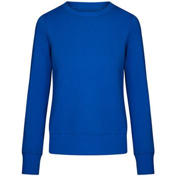 Vêtements Femme Sweats X.o By Promodoro Sweat X.O grandes tailles Femmes bleu azure