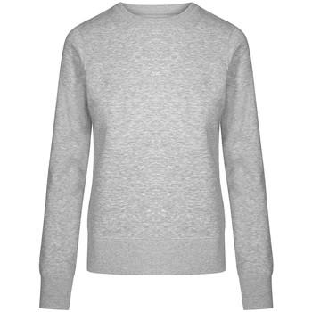 Vêtements Femme Sweats X.o By Promodoro Sweat X.O grandes tailles Femmes gris chiné