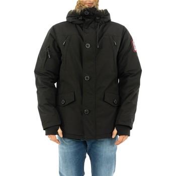Vêtements Homme Parkas Helvetica ontario noir