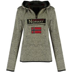 Vêtements Femme Sweats Geographical Norway Sweat Femme Upclassica Gris