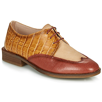 Chaussures Femme Derbies Hispanitas LONDRES Marron