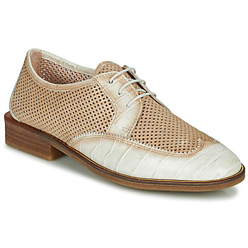 Chaussures Femme Derbies Hispanitas LONDRES Beige / Blanc