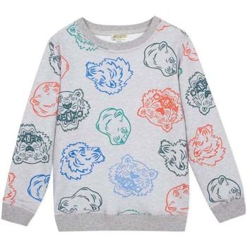 Vêtements Garçon Sweats Kenzo Kids GEORGES CAMISETA gris