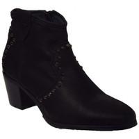Chaussures Femme Bottines Reqin's karline vintage Noir